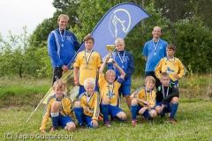 Gräsplans Cup 2011 hopeajoukkue.